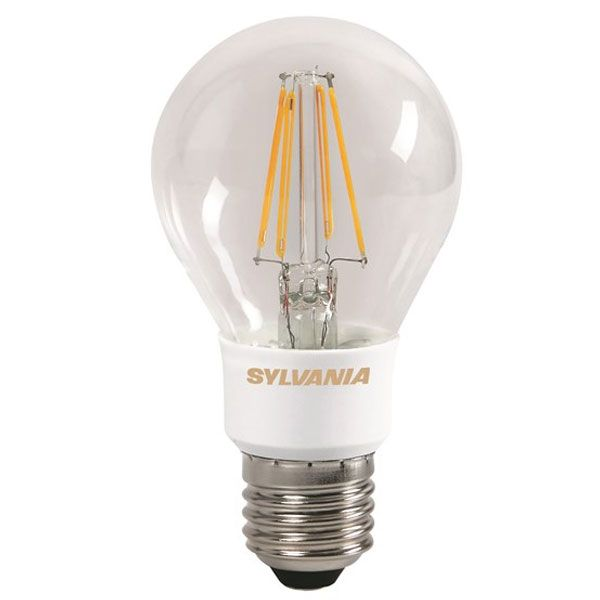 ampoule led filament toledo retro e27 standard 5 5w claire sylvania ampoules service. Black Bedroom Furniture Sets. Home Design Ideas