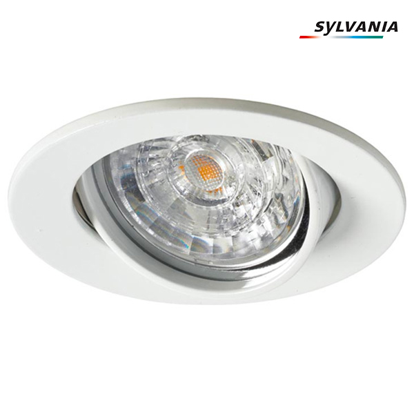 Kit Inset Trend RefLED+ ES50 V2 5.5W 40° Blanc 3000K Dimmable Sylvania