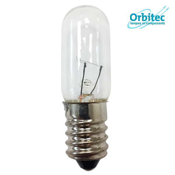 Ampoule à incandescence E14 5W 24V 16x54mm Orbitec