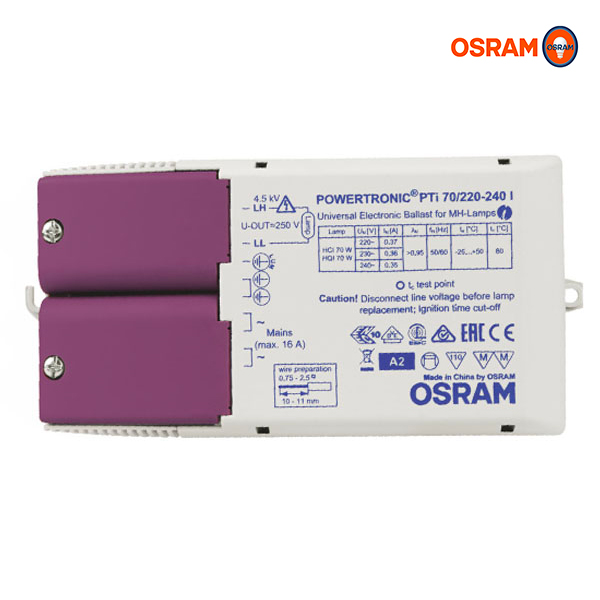 Ballast POWERTRONIC Intelligent PTI70/220 -240V l Osram