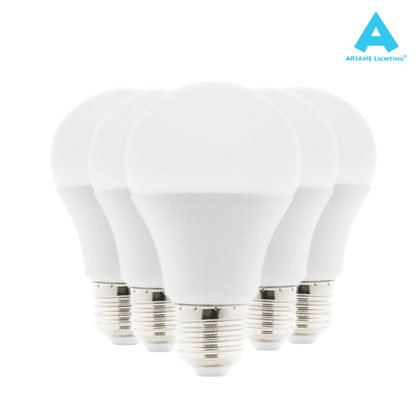 Pack 5 Ampoules LED E27 10W 3000K Standard 1000lm Ariane