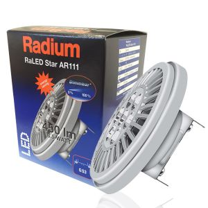 Ampoule RaLED G53 AR111 8,5W 450lm Dimmable Radium