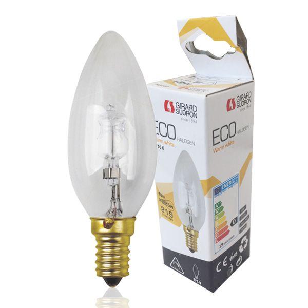 Girard 19w 2750k Ampoule Eco Flamme E14 Halogène Sudron ZuPwkTOXi