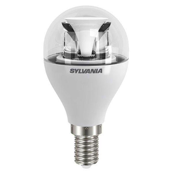 ampoule led toledo dimmable e14 6 5w 470lm sph rique claire sylvania ampoules service. Black Bedroom Furniture Sets. Home Design Ideas