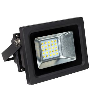 Projecteur LED 20W 3000K Noir IP66 Ariane